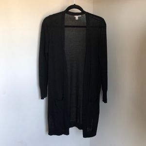 Halogen Linen blend cardigan